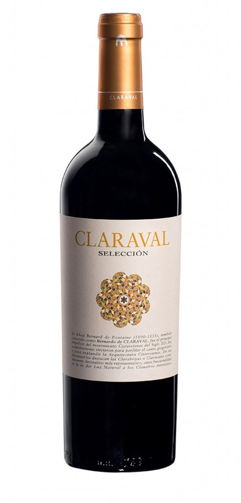 Claraval Selección wine bottle design