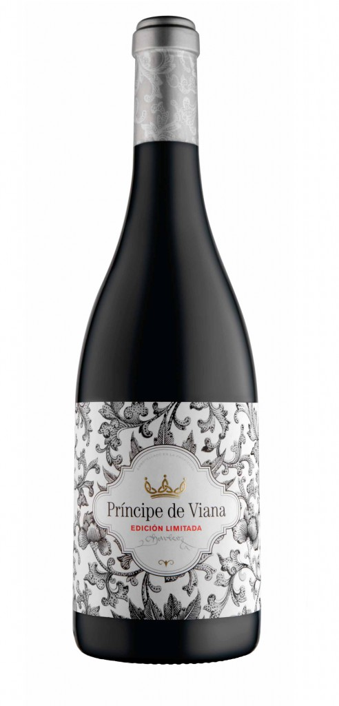 Principe de Viana LE wine bottle design