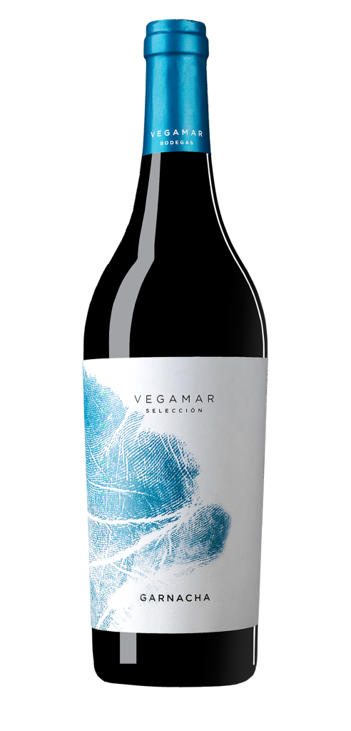 Vegamar Seleccion Garnacha wine bottle design