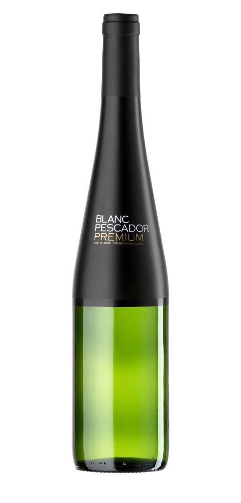 Blanc Pescador Premium wine bottle design