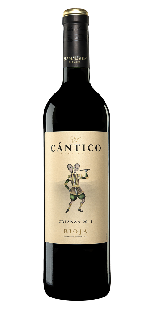 El Cantico wine bottle design
