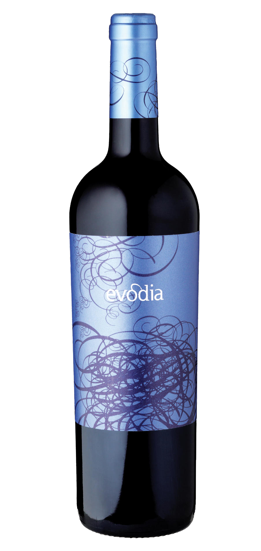Evodia wine bottle design
