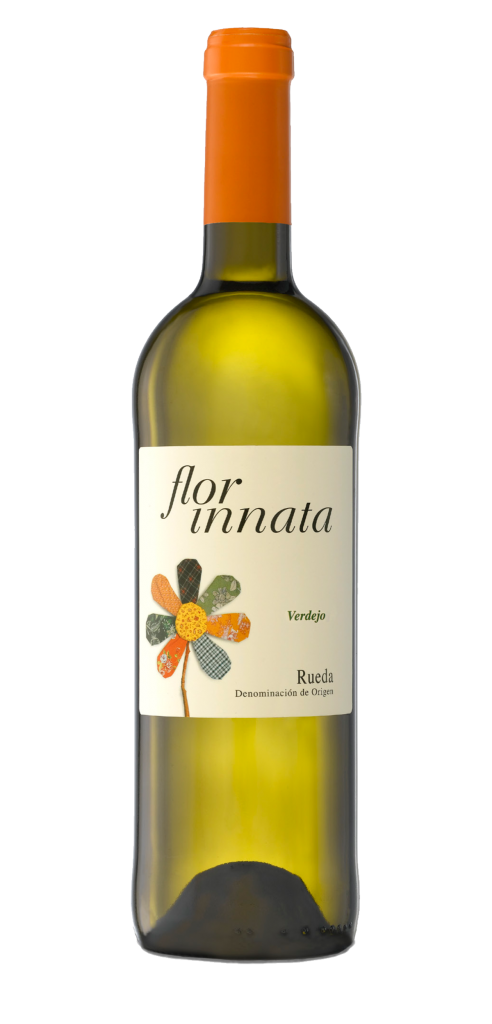Flor Innata wine bottle design