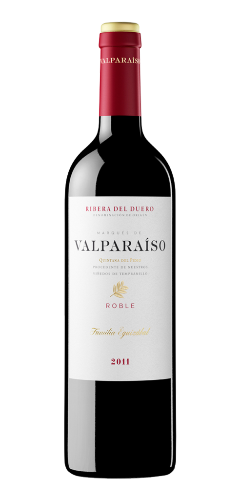 Valparaiso wine bottle design