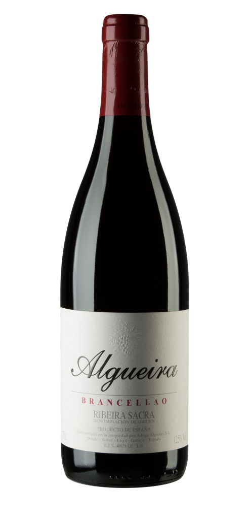 Algueira wine bottle design