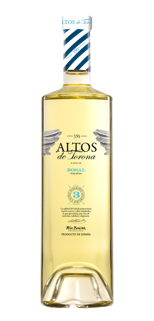 Altos de Torona wine bottle design