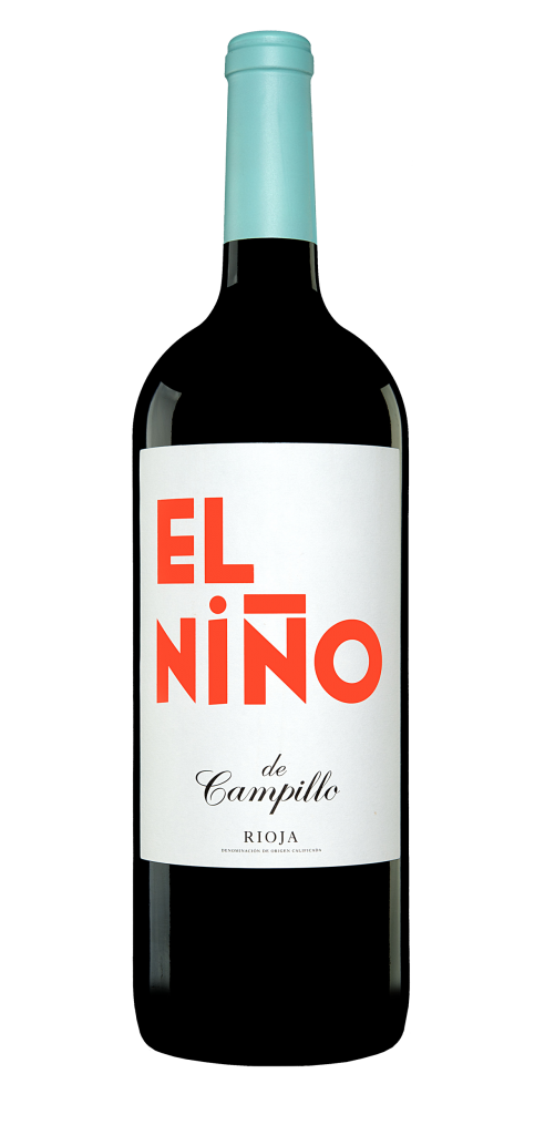El Niño de Campillo wine bottle design