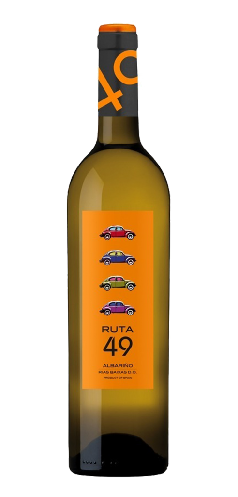 Ruta 49 wine bottle design