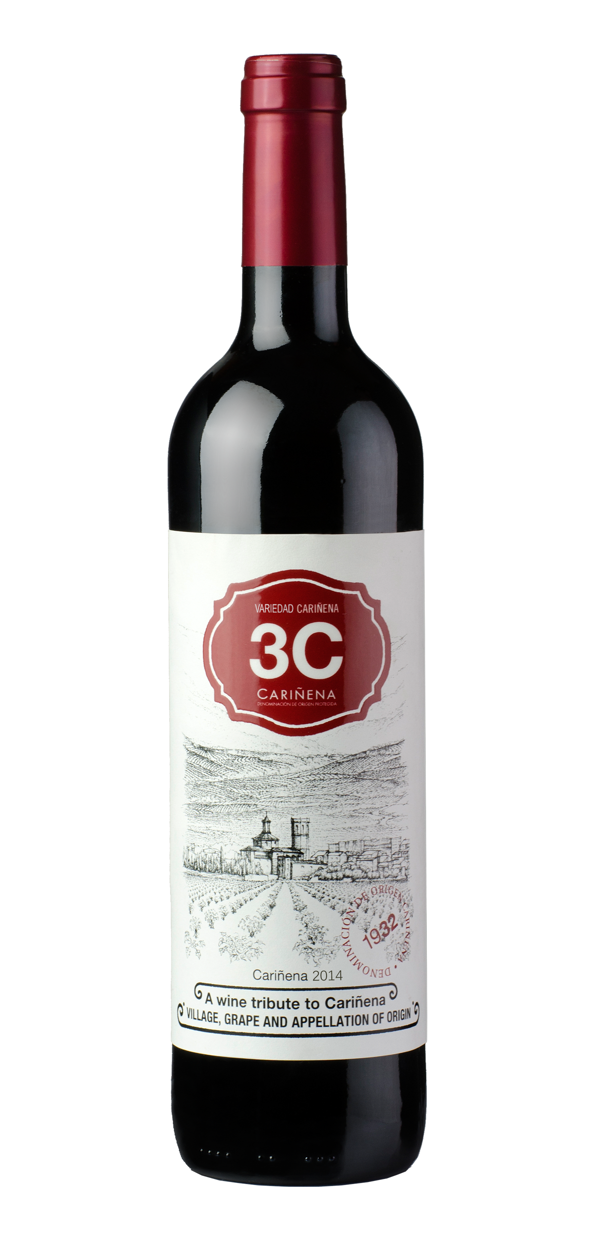 3C Young wine bottle design