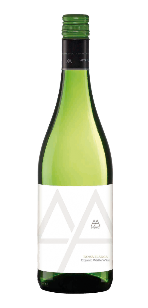 Alta Alella Pansa Blanca wine bottle design