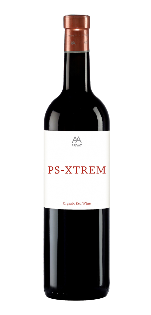 Alta Alella PS_Xtrem wine bottle design