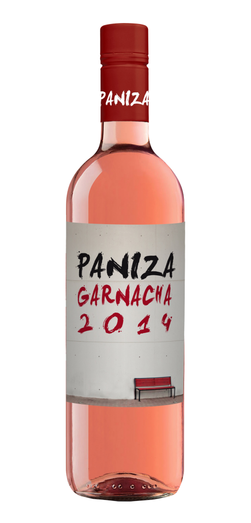 Paniza Joven Garnacha wine bottle design
