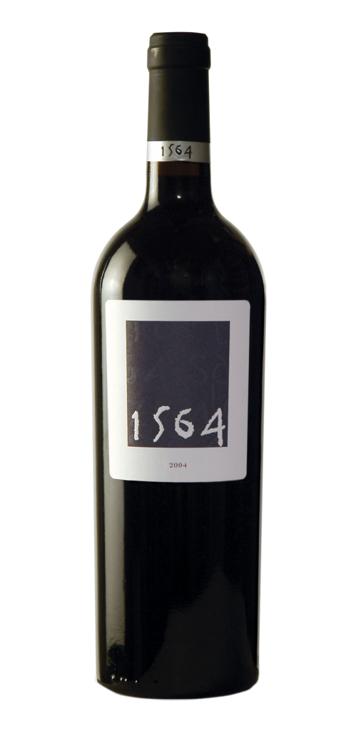 1564 wine bottle design