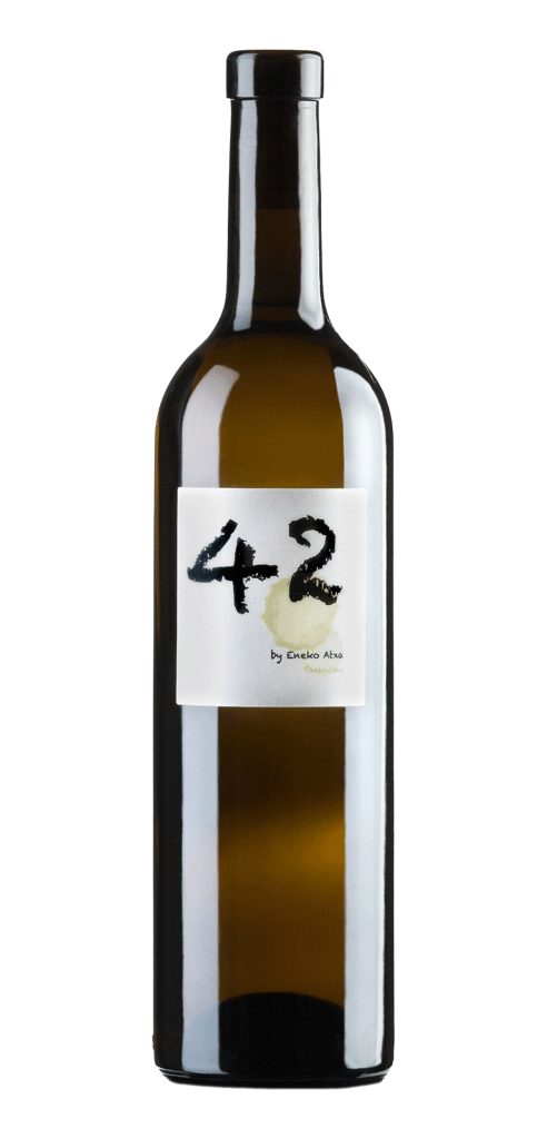 42 Eneko Atxa wine bottle design