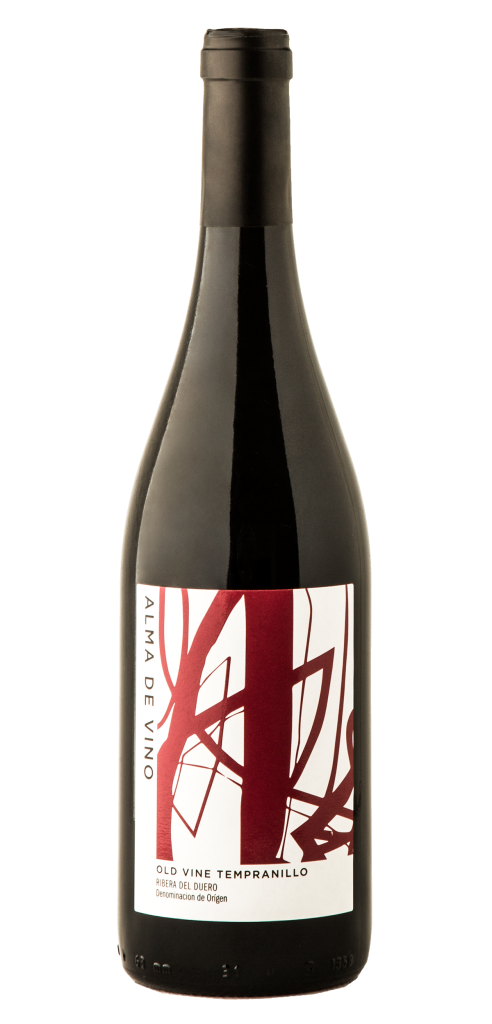 Casa Abril Alma de Vino wine bottle design