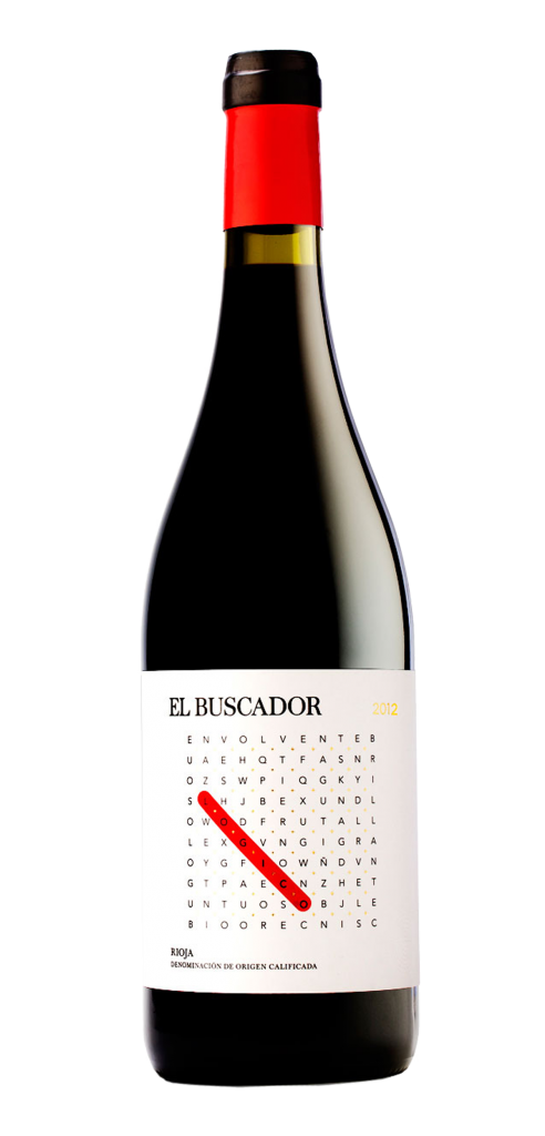 El Buscador wine bottle design