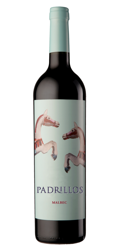 Padrillos wine bottle design
