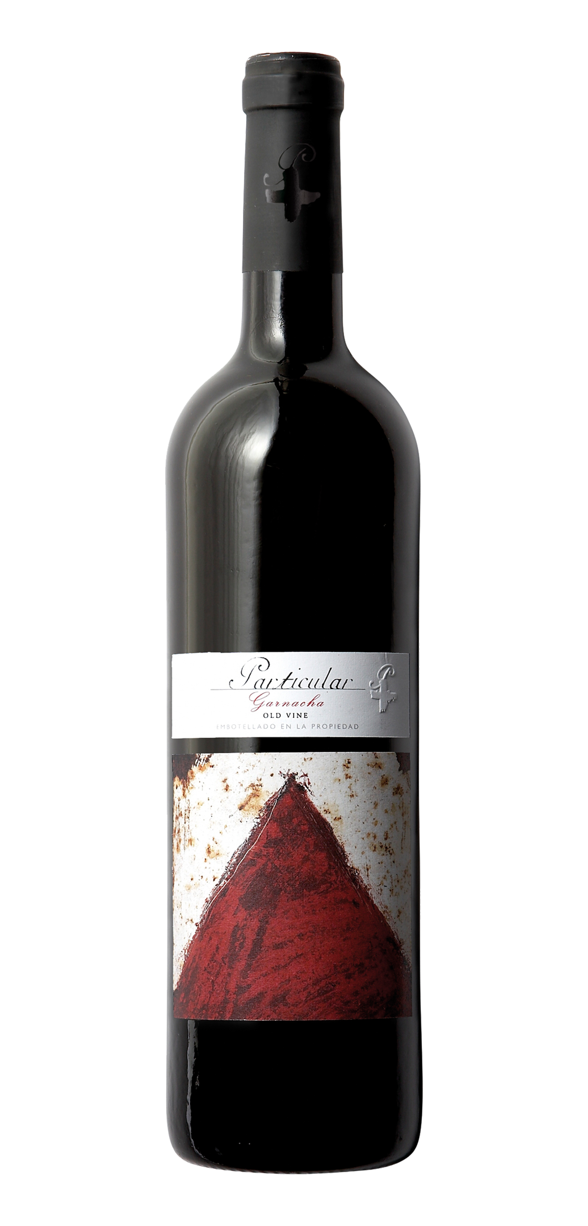 Particular Garnacha Old Vine wine bottle design