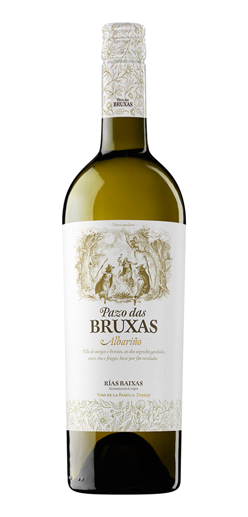 Pazo das Bruxas wine bottle design
