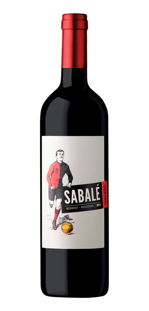 Sabale wine bottle design