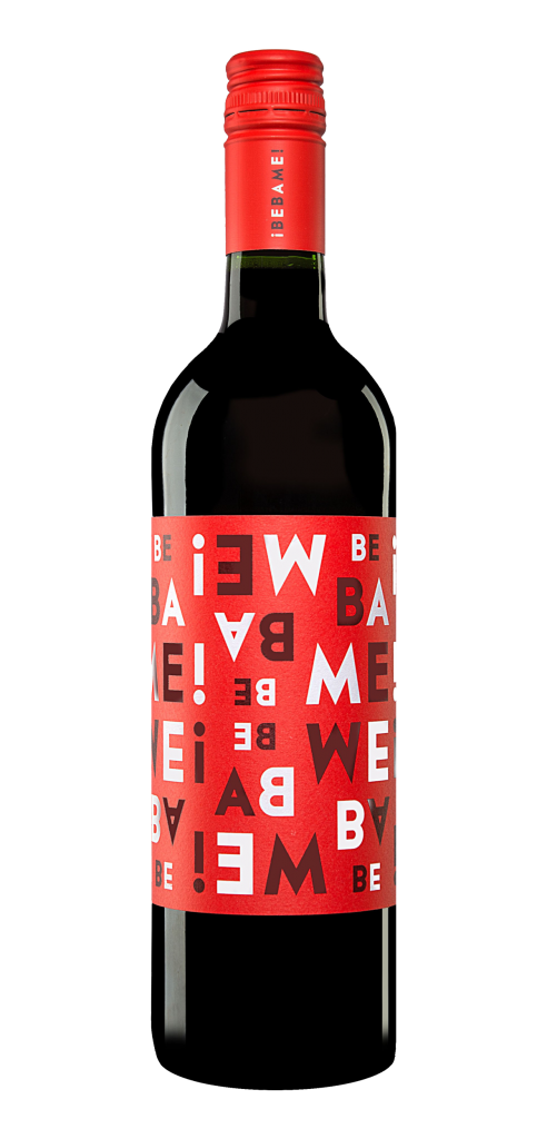Bebame wine bottle design