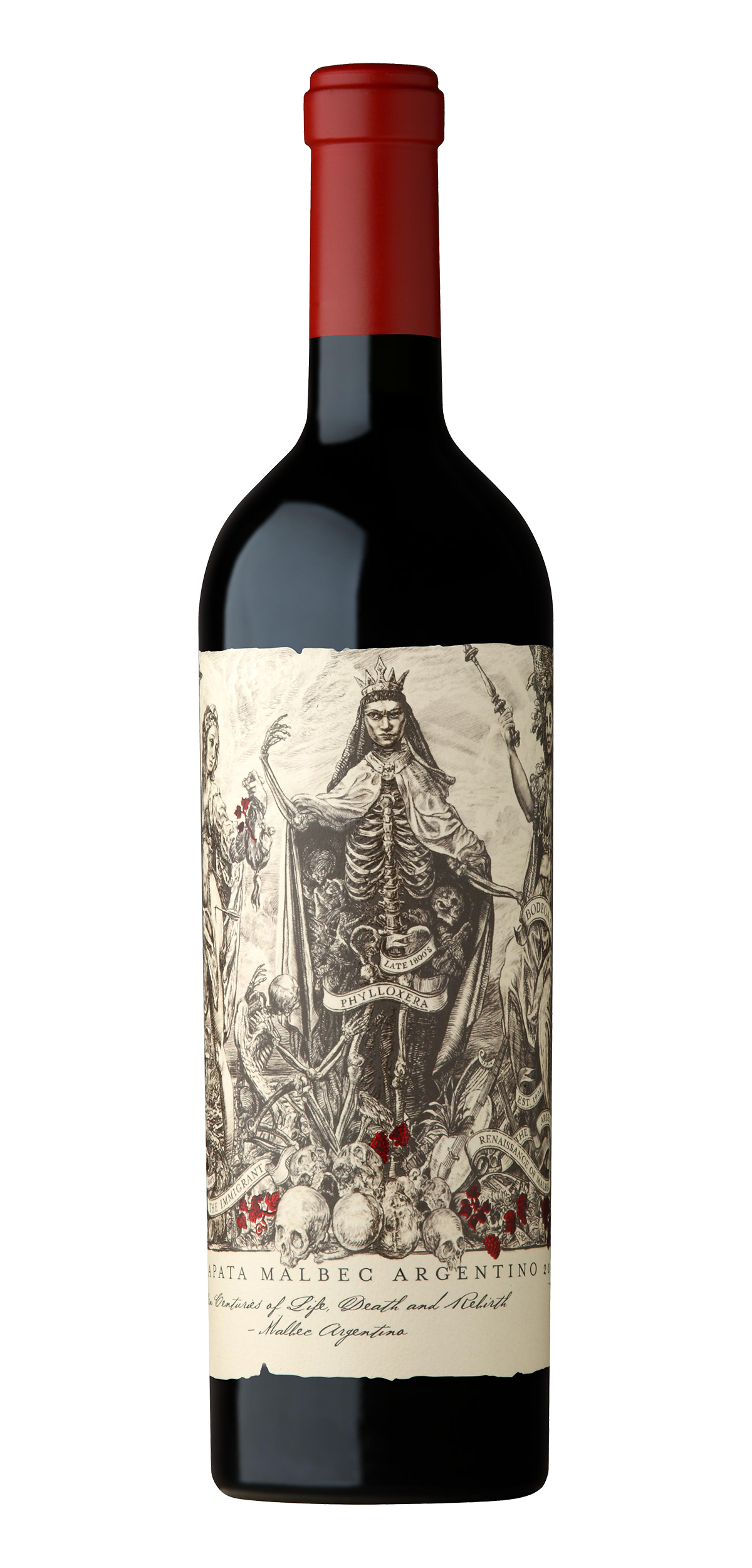 Catena Zapata wine bottle design