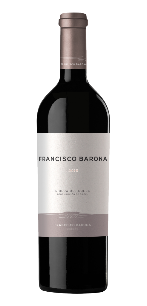 Francisco Barona wine bottle design