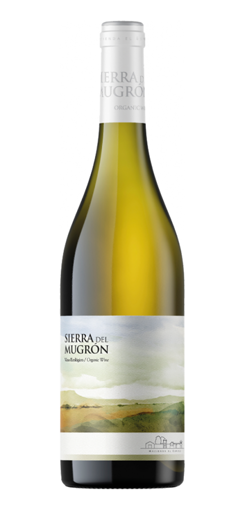 Sierra del Mugron White wine bottle design