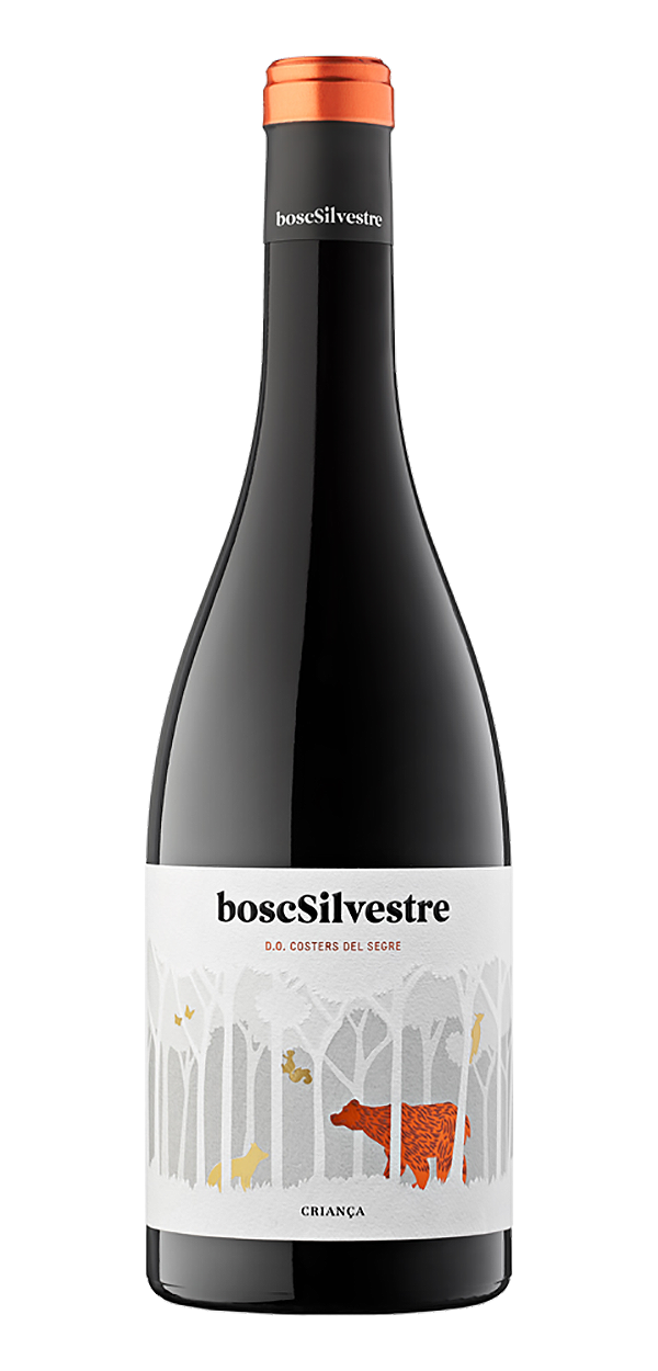 Bosc Silvestre wine bottle design