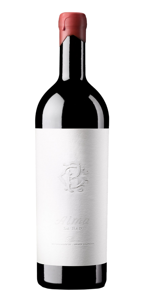 Alma wine bottle design