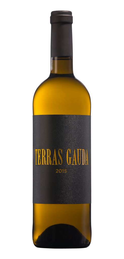 Terras Gauda 2015 wine bottle design