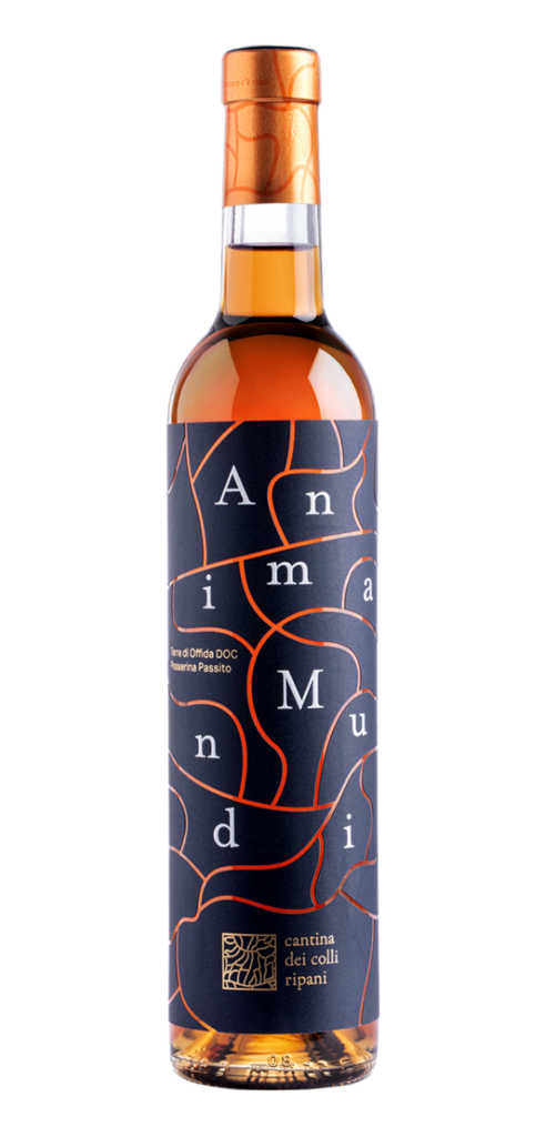 Anima Mundi wine bottle design