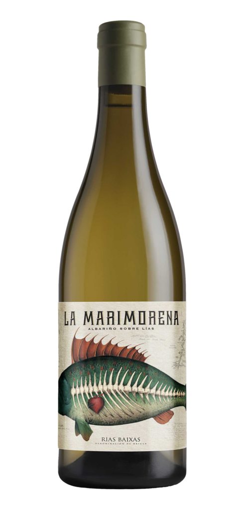 La Marimorena (RD) wine bottle design