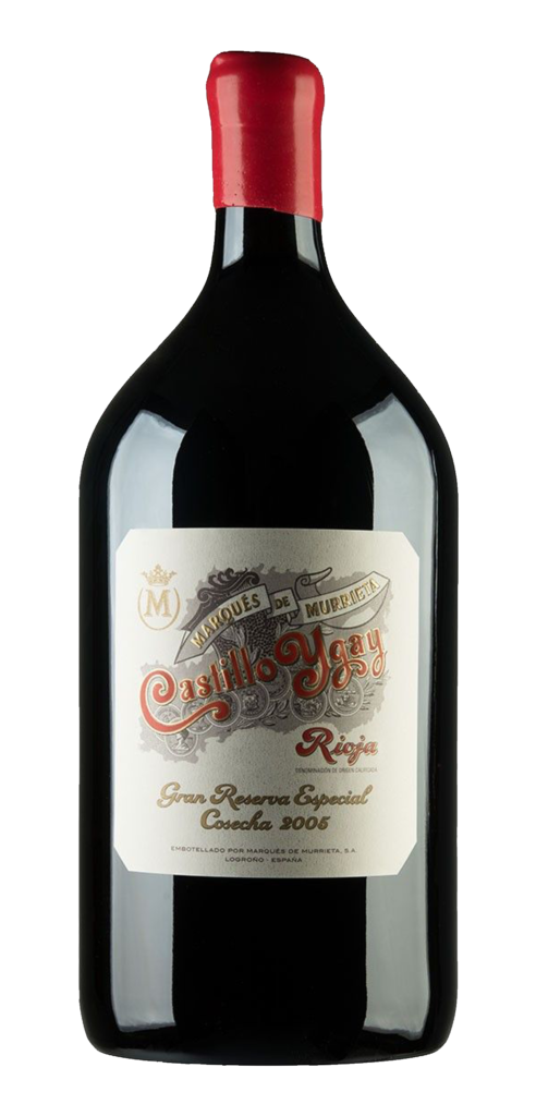 Castillo Ygay Gran Reserva wine bottle design