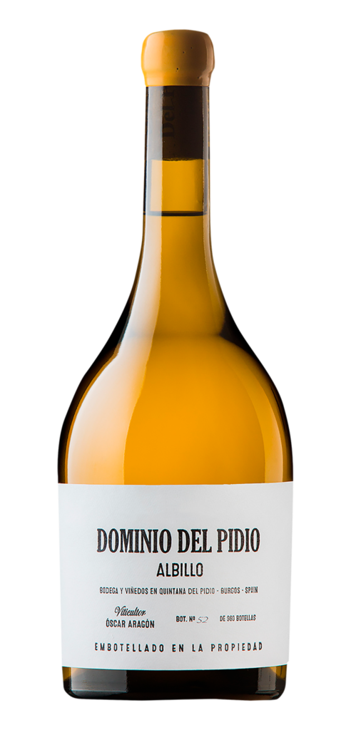 Dominio del Pidio Albillo wine bottle design