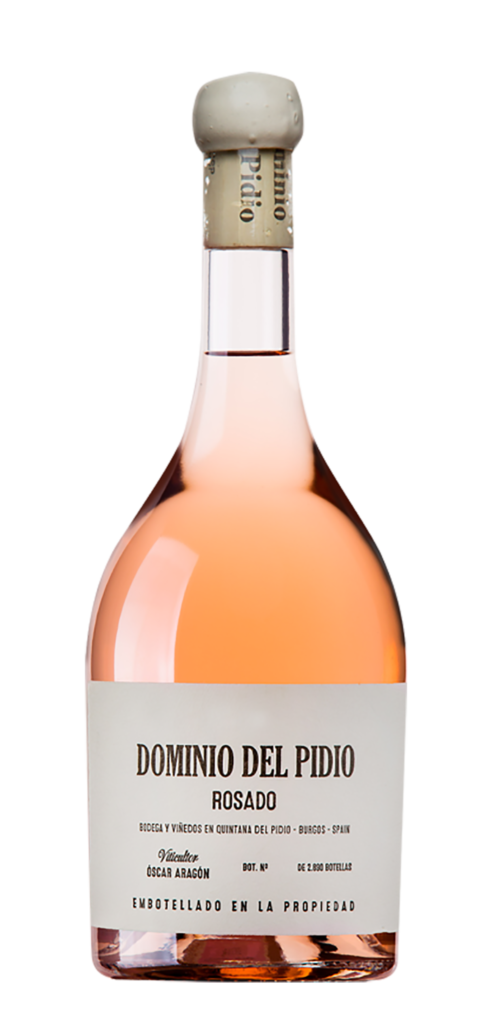 Dominio del Pidio Rosado wine bottle design