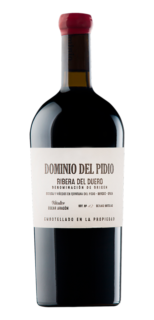 Dominio del Pidio Tinto wine bottle design