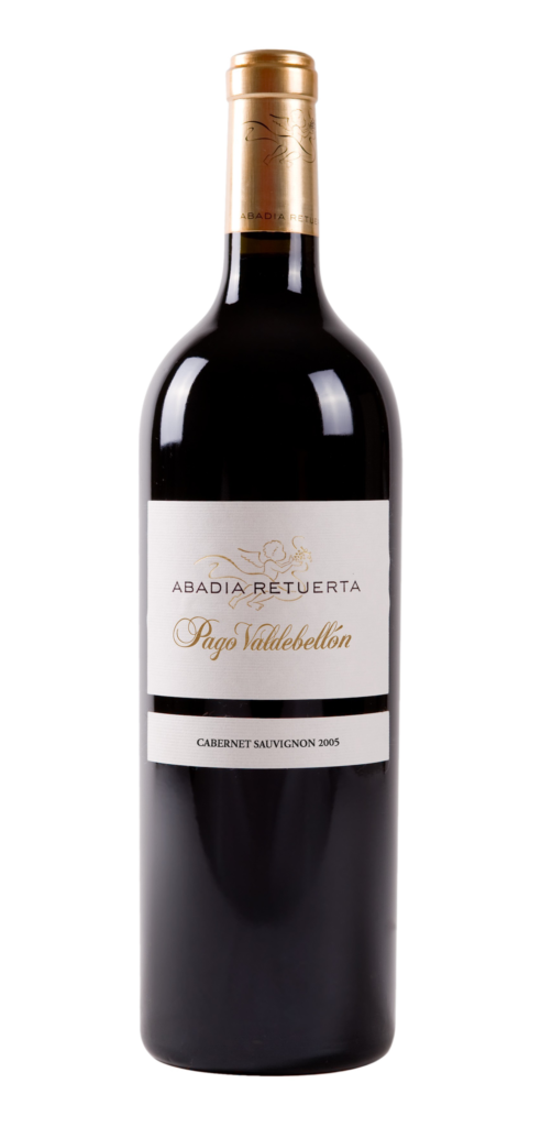Pago Valdebellón wine bottle design