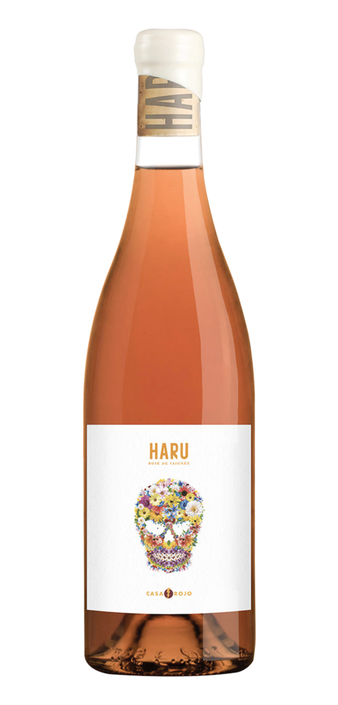 Haru wine bottle design