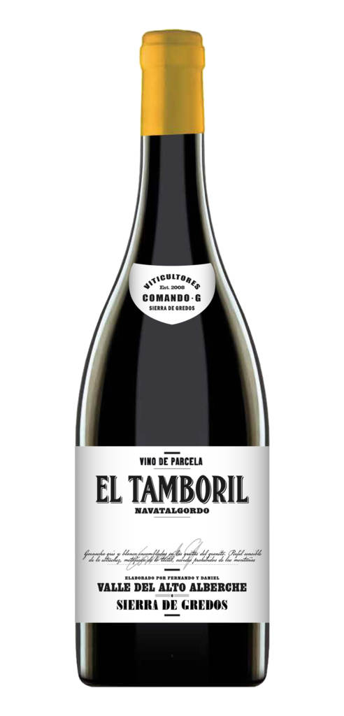 El Tamboril wine bottle design