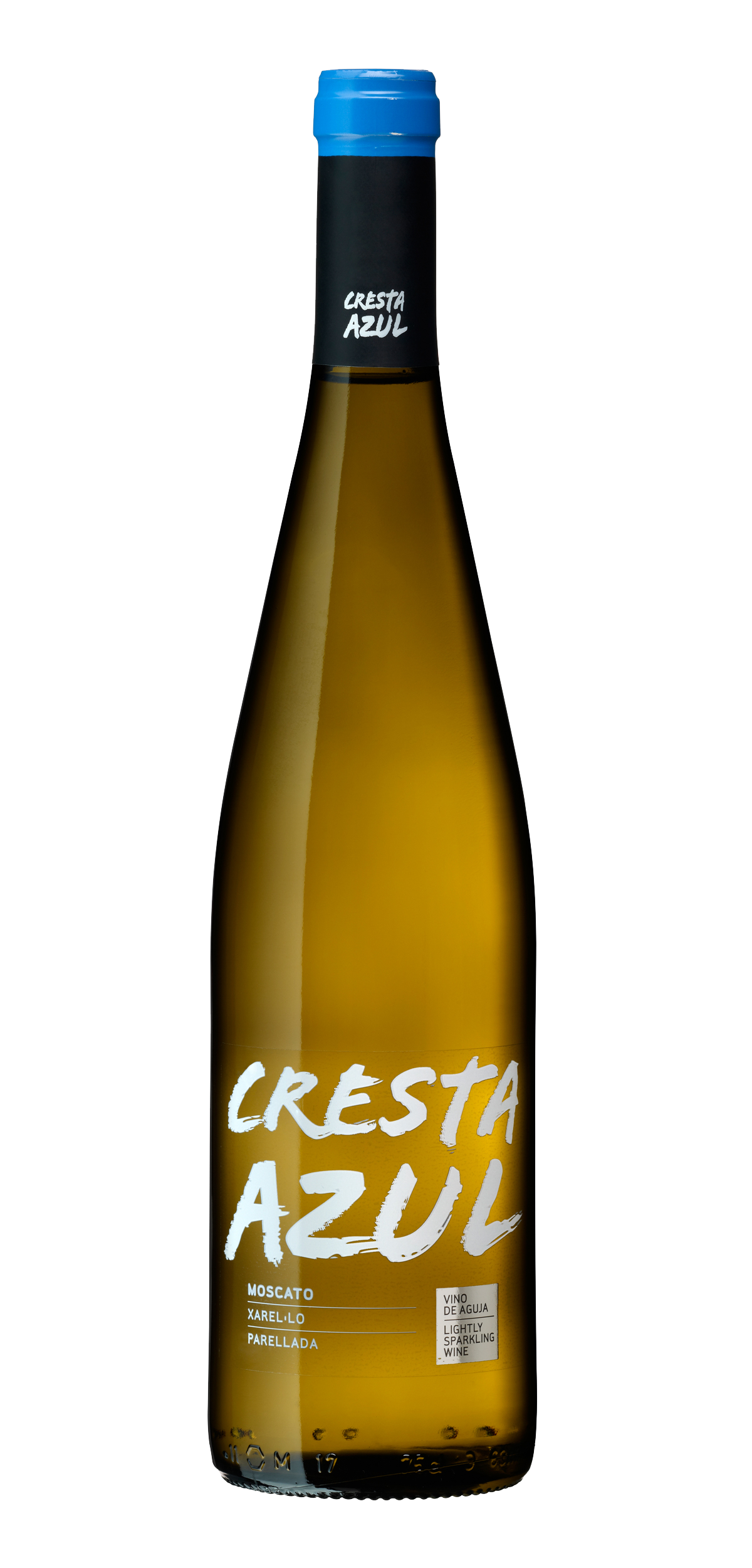 Cresta Azul wine bottle design