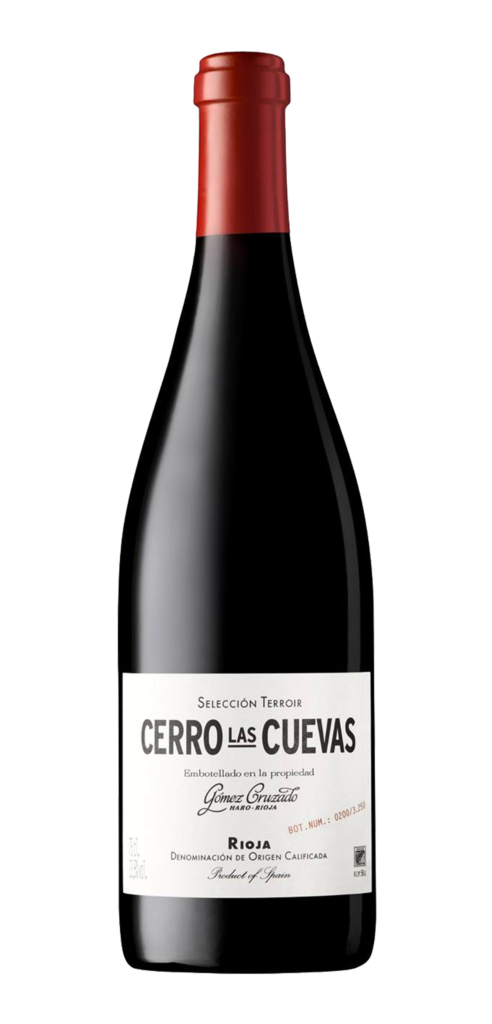 Cerro Las Cuevas wine bottle design
