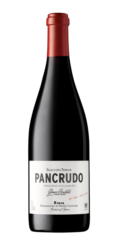 Pancrudo wine bottle design