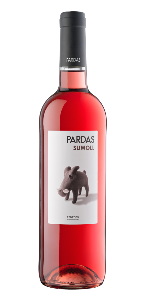 Sumoll wine bottle design