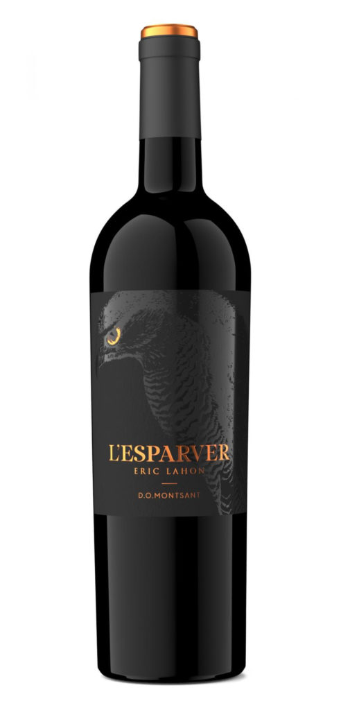 Eric Lahon – L'Esparver wine bottle design
