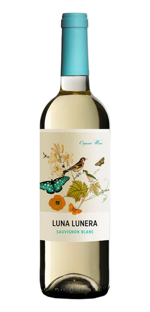 Luna Lunera wine bottle design