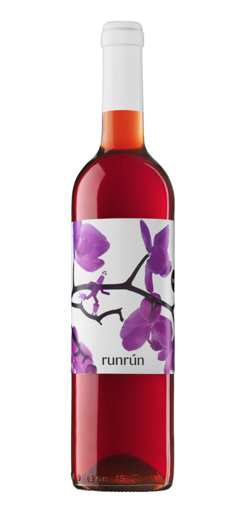 Run Run wine bottle design